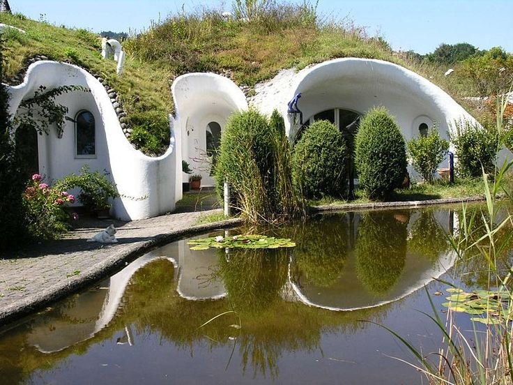 An Alternative To Single Houses In The Form Of Fantasy Earth Homes