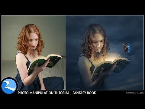 SUBSCRIBE my channel for more tutorials ► http://bit.ly/rafy-A sharing how to make a fantasy magic book photo manipulation effect in photoshop cc, I hope you...