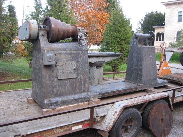 Photo Index - Fay & Scott - Face Plate Lathe   VintageMachinery.org   woodturning lathes ...