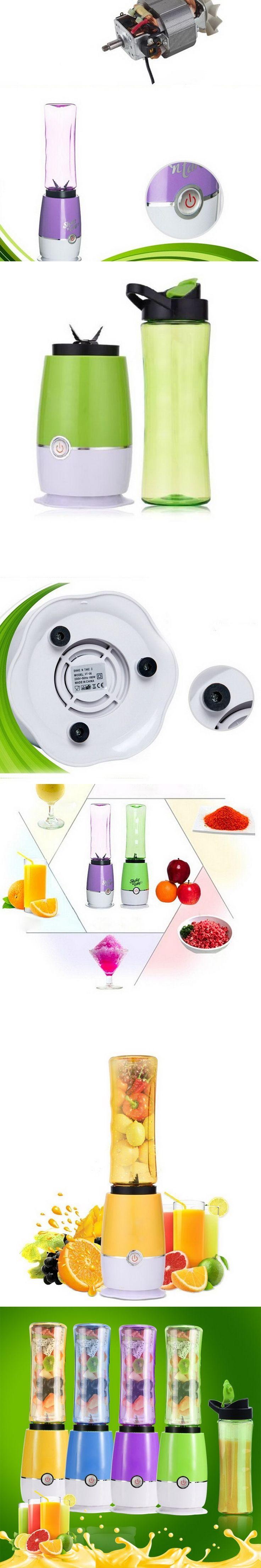 Electric Lemon Jucier Mini Portable Rechargeable Electric Fruit Juicer Smoothie Maker Blender