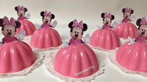 Gelatinas de Minnie Mouse individuales