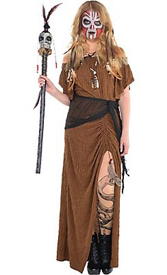 Witch Doctor Dress                                                       …