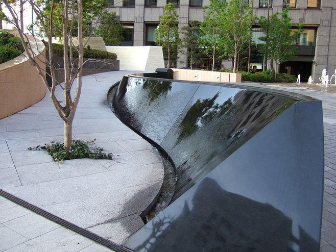 ป กพ นโดย The Power Of Living Space Ho ใน Fountains Outdoor สถาป ตยกรรม บ านในฝ น