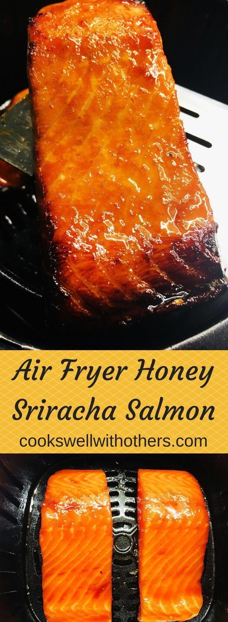 Air Fryer Recipes Salmon, Air Fryer Oven Recipes, Air Frier Recipes, Air Fryer Dinner Recipes, Easy Appetizer Recipes, Salmon In Air Fryer, Baked Salmon Recipes, Cooking Tips, Cooking Recipes