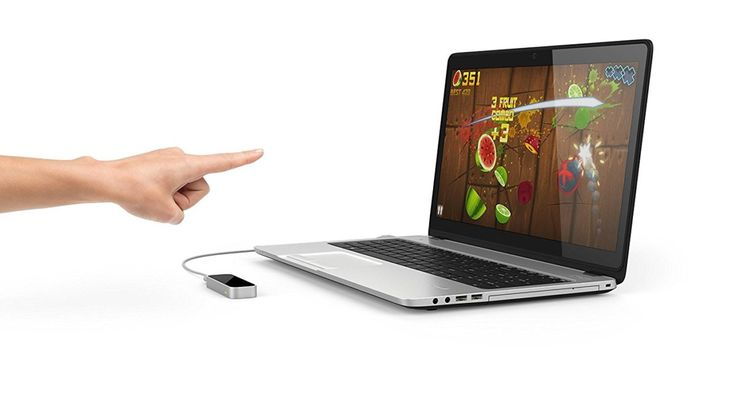 Transform your regular computer to a gesture controlled device with cool leap motion controller. Plug the device to your PC and then you have unlimited new possibilities to enjoy your pc in new ways.