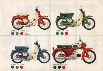 Honda C50 - C90 | Flickr - Photo Sharing!