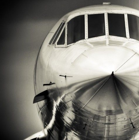 The awesome bird. Concorde