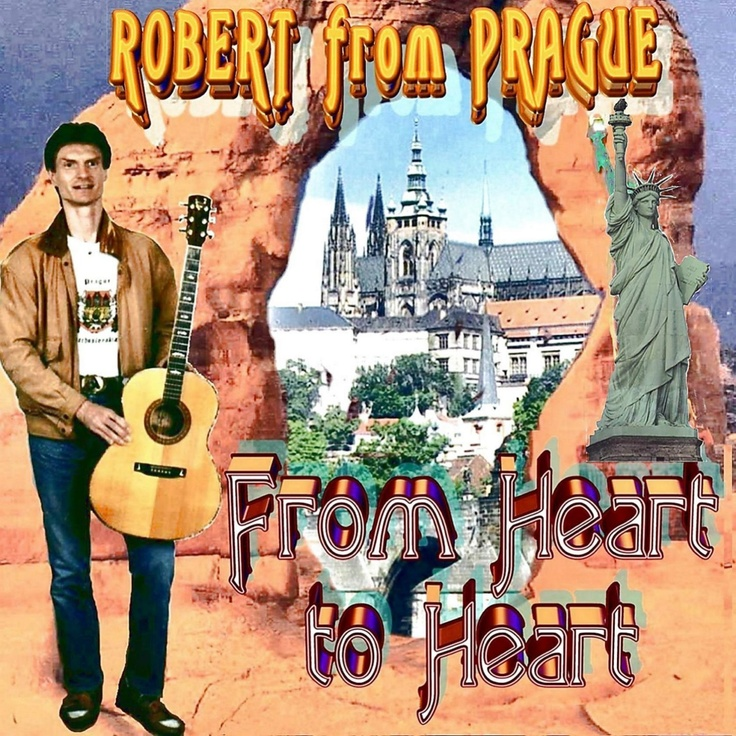 "Robert from Prague - Multitalented , Music to Enjoy http://www.cdbaby.com/cd/robertofprague The CD cover is in harmony  its content. You save the most by not buying/gifting the CD, or a song  but miss out on  ""magnifique""  listening pleasure. Ladies, think of a 'bad hair day' cure."