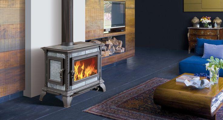 Hergom - Estufas, hogares y chimeneas de hierro fundido para leña y gas. Europa…