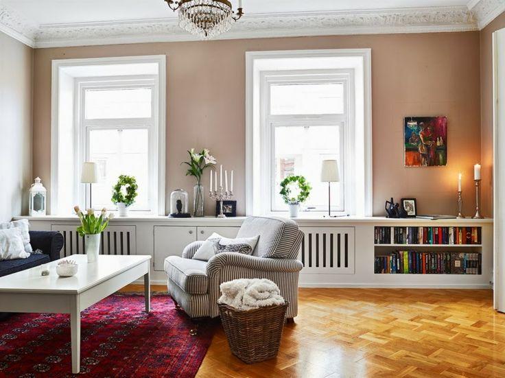 Minty Inspirations: Mieszkanie w stylu skandynawskim z nutką glamour
