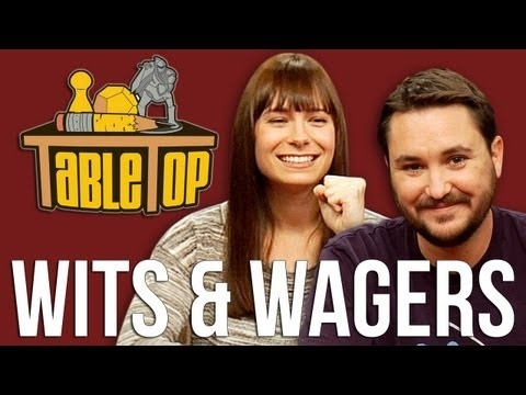 Wits & Wagers: Veronica Belmont, Phil LaMarr, and Jimmy Wong join Wil on TableTop, episode 13