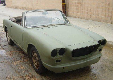 Basketcase 1963 Lancia Flavia Convertible #cars #coches #carros