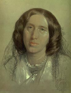 The birth on this day 22nd November, 1819 of novelist George Eliot aka Mary Ann Evans