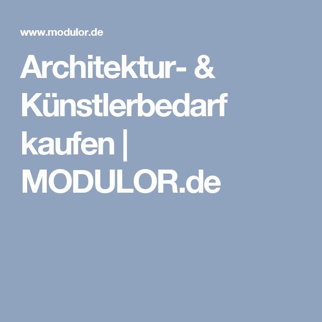 Architektur- & Künstlerbedarf kaufen   MODULOR.de