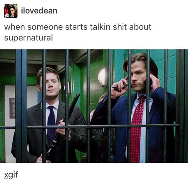 Supernatural is so awesome, how could anybody not like it ?
