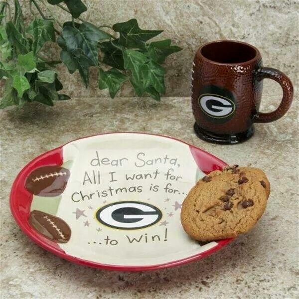 Dear Santa...Green Bay Packers Win, please.