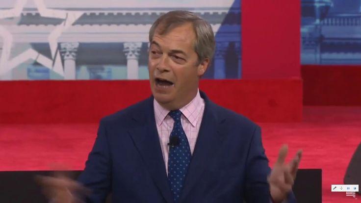 Nigel Farage Speech CPAC 2018. Wow! This Man Rocks!!!