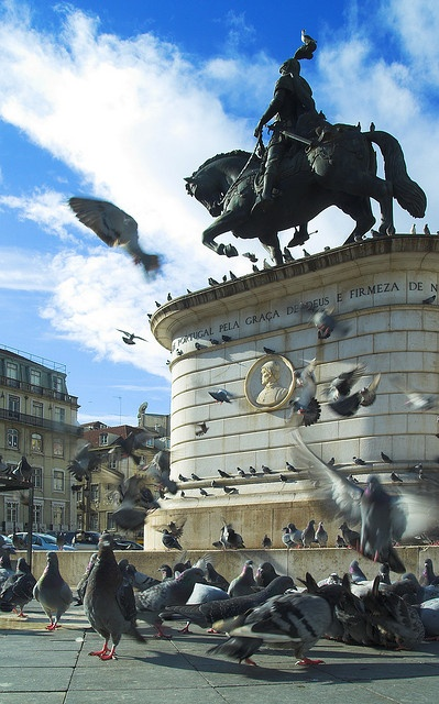 """Rossio Lisbon Portugal. Love to #travel to #Lisbon? Add this in your #bucketlist. Visit """"City is Yours"""" http://www.cityisyours.com/explore to discover amazing bucket lists created by local experts."""