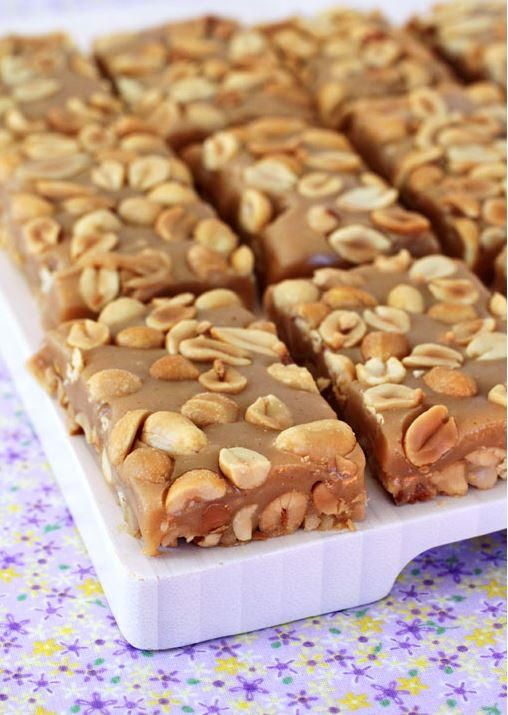 Copycat Payday Candy Bar Recipe | This candy bar copycat is easier than you might think! Give it a try!!