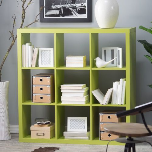 Hudson 9-Cube Bookcase - Bookcases at Hayneedle $150