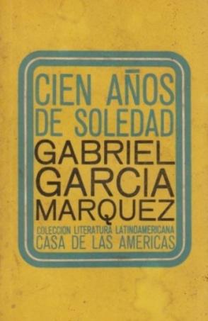 Gabriel Garcia Marquez - Cien Anos de Soledad. En espanol, es un libro fantastico. me encanta el realismo magico