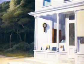 Seven A.M. - Edward Hopper