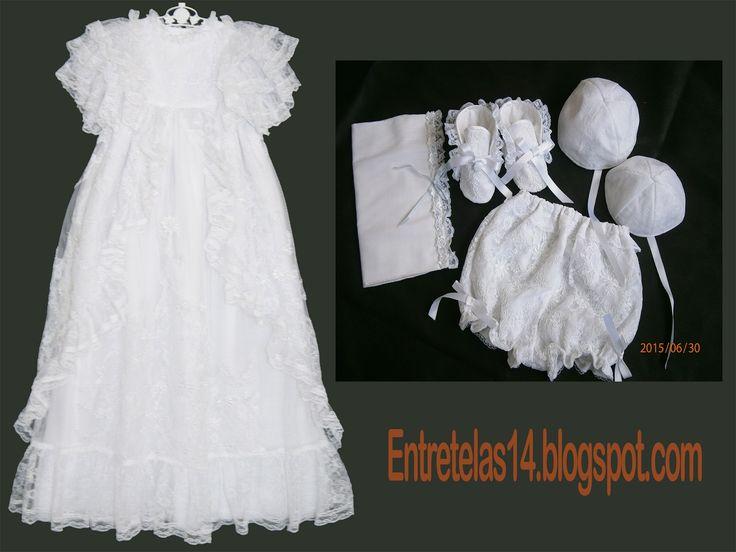 Como hacer el vestido de bautizo del Principe George, faldellin ~ Entretelas