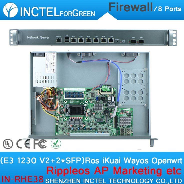 635.72$  Buy here  - Internet router ROS 8 Gigabit flow control router mikrotik with E3 1230 V2 CPU Intel 1000M 6 82583V 2 Gigabit 82580DB fiber