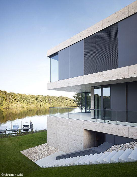 Moderne fassaden einfamilienhäuser  Die besten 20+ Fassadengestaltung Ideen auf Pinterest ...