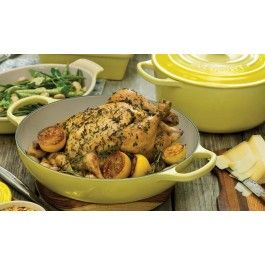 Roast Chicken with Lemon and Herbs | Le Creuset