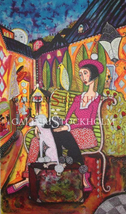 Angelica Wiik - Litografier - Mosebacke Beställ här! Klicka på bilden.