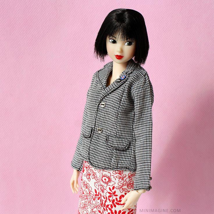Minimagine: ALISON #momokodoll #minimagine #dollcollector #dollcollection #dollportrait #closeup