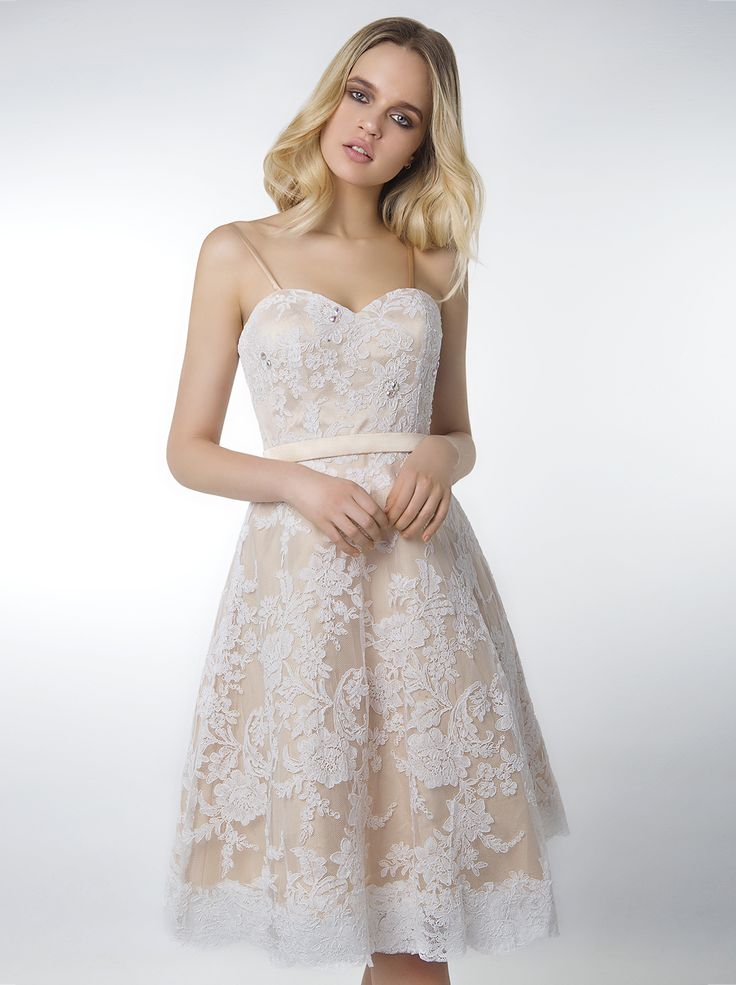 Romantic lace #Mikael #dress, available also in pink and green color...  http://mikael.gr/el/new-collection/20373.html