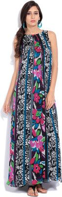 Buy Avirate Women's Maxi Dress Online at Best Offer Prices @ Rs. 4,400/- In India. #Maxi #Dresses #India