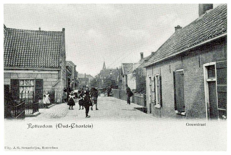 rotterdam - oud-charlois gouwstraat