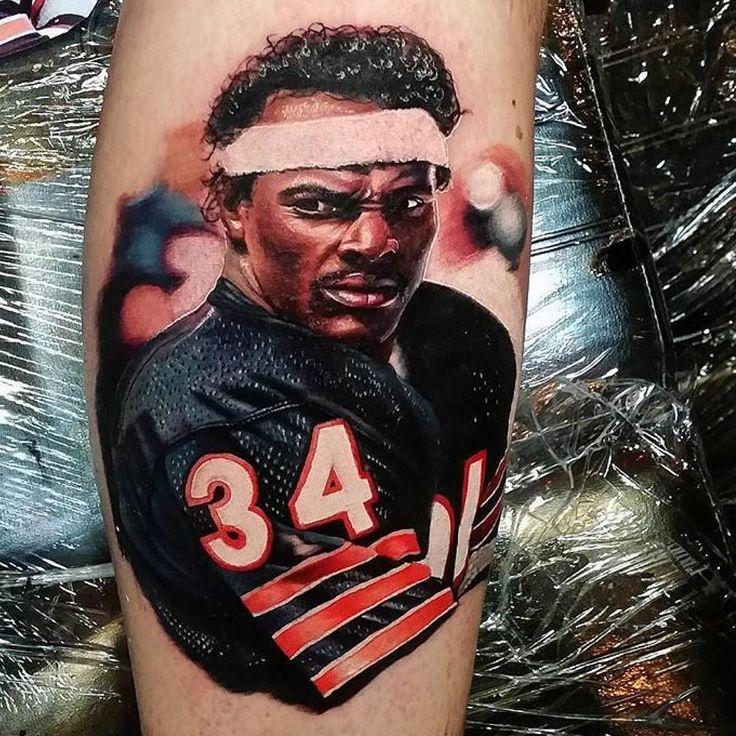 Artist- @thealexwright  Also Follow  @coverup_tattoos @savepaperinkme @savepaperinkmetattoo @tattoos_miami @animateyourtattoo  #rideordiefan #nfl #gobears #bearsnation #bears #sports #chicago #sportscenter #football #sport #winning #ballislife #espn #chicagobears