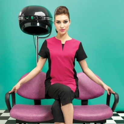Hair salon and spa tunic