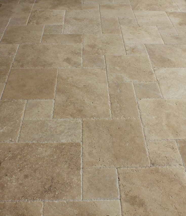 BuildDirect®: Travertine Tile Antique Pattern Travertine Tile Meandros  Walnut Standard