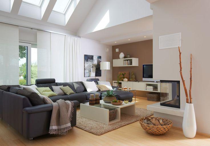 Viebrockhaus Edition 500 B #WOHNIDEE-Haus - Ein #Bungalow mit - auffallige wohnzimmer einrichtung frischekick