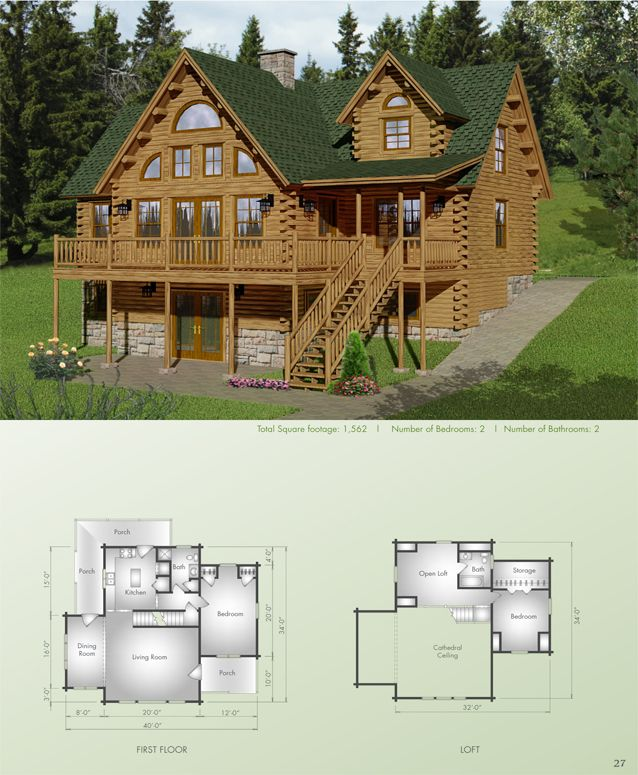 45 Best Images About Big Twig Homes Llc Log Home Plans On