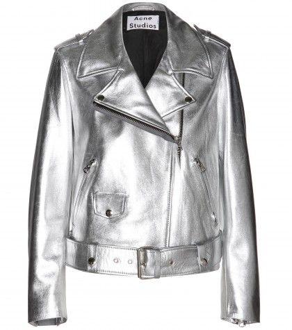 Acne Studios - Mape metallic-leather jacket  - mytheresa.com GmbH