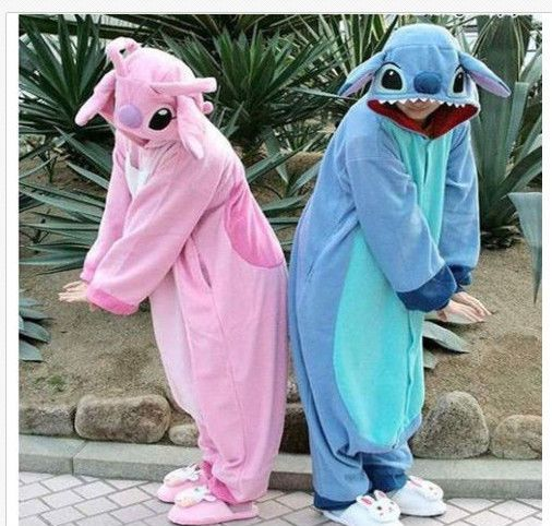 NEW Adult Kigurumi Pajamas Pyjamas Onesie Blue Stitch lilo Cosplay Costume** | Clothing, Shoes & Accessories, Costumes, Reenactment, Theater, Costumes | eBay!