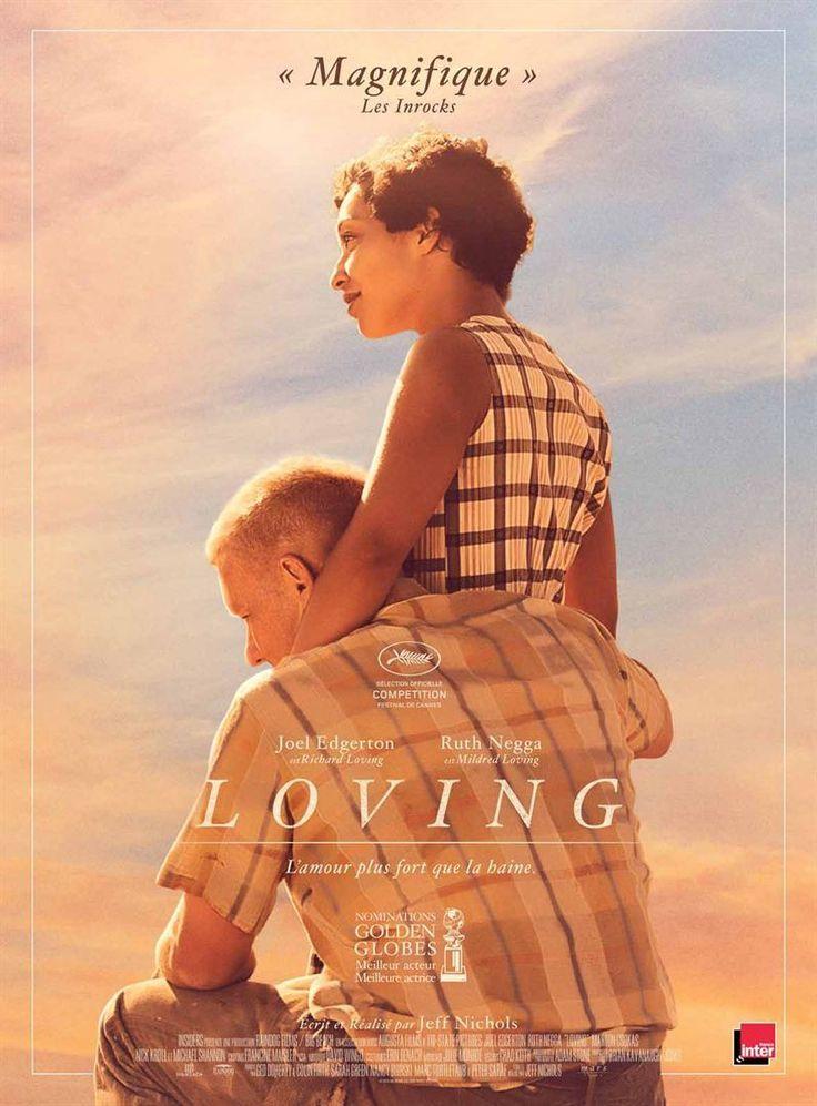 Loving (2016) directed by: Jeff Nichols starring: Ruth Negga, Joel Edgerton, Michael Shannon, Marton Csokas