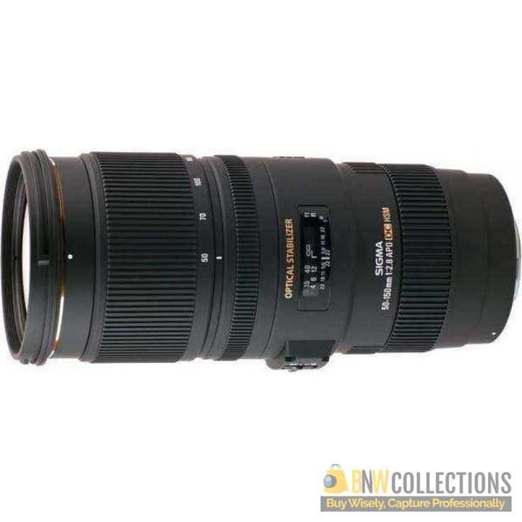 Buy Sigma 50-150mm f/2.8 EX DC OS HSM APO Lens At Rs.106,500 Highlights :- fast f/2.8 telephoto zoom lens with a 50-150mm focal length, optical image stabilization. Delivery Available In All Over Pakistan Hassle FREE To Returns Contact # (+92) 03-111-111-269 (BnW) Email :- info@bnwcollections.com #BnWCollections #Sigma #Camera #Lens