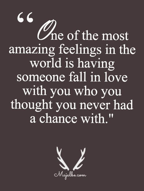 Unexpected Love Was The Sweetest Love Quotes