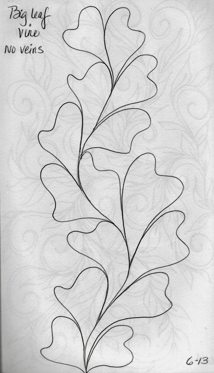 LuAnn Kessi: Big Leaf Vine