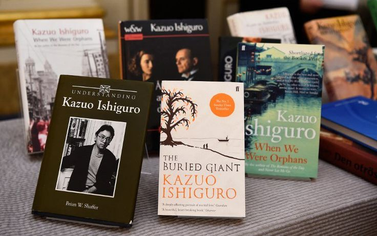 "The Japanese publisher of Nagasaki-born Kazuo Ishiguro said Friday it would republish eight of the British author's books in translation, reporting ""a huge number of orders"" after he won the Nobel Literature Prize."