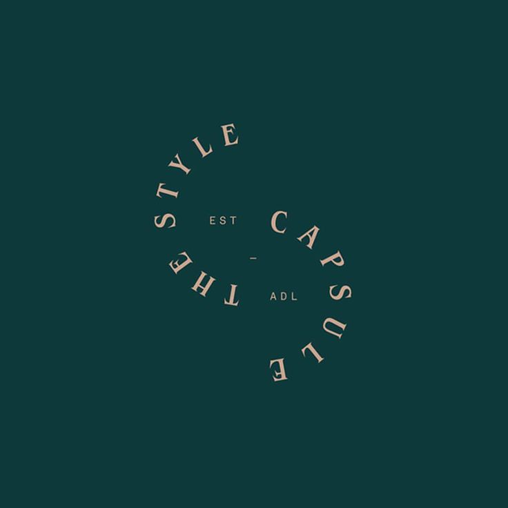"1,994 Likes, 7 Comments - The Brand Identity (@thebrandidentity) on Instagram: ""The Style Capsule by @simple.com.au - See more on the site www.the-brandidentity.com - #logo…"""