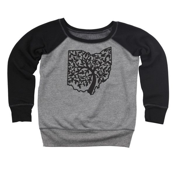 """Do your Ohio roots run deep? Then this Ohio """"tree of life"""" design is perfect for you. Available in a variety of styles from Clothe Ohio. #yougetwegive #ygwg #ohiopride"""