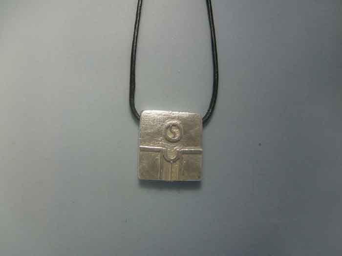 mayan kin seal seed khan sterling silver 925 pendant necklace colgante sello maya semilla plata de ley amuleto zodiacal by Algaba on Etsy